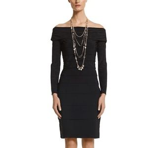 WHBM Off The Shoulder Instantly Slimming Dress